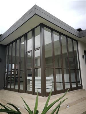 Aluminium windows and doors for homes