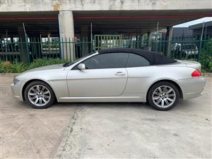 2007 BMW 6 Series coupe 650i COUPE (F13)