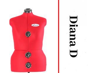 Diana D - Adjustable Dressmaker Doll / Mannequin / Sewing Doll