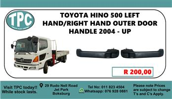 Toyota Hino 500 Left Hand/Right Hand Out Door Handle 2004 - Up - For Sale at TPC.