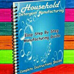 55 Formula Detergent Manufacturing Manual @ R450 - Individual Formulas Available At R50