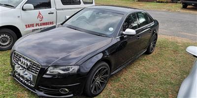 2011 Audi S4 sedan S4 3.0 TFSI QUATTRO TIPTRONIC
