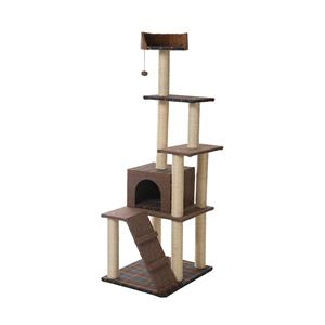 Large Cat Condo For New Cat Tree And Main Coon Cat Tree .