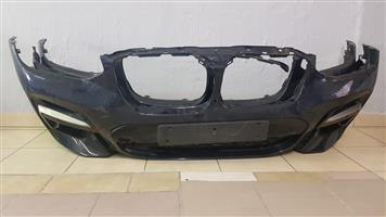 BMW X3 FRONT BUMPER WITH FULL WIRING FOR SALE