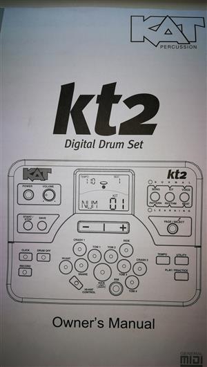 Kat 2 electronic drum kit