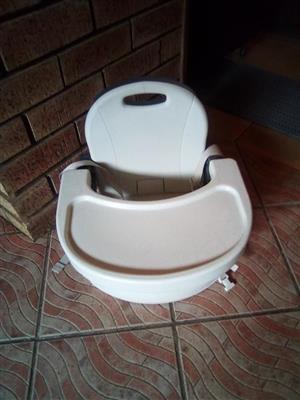 White feeding chair for sale