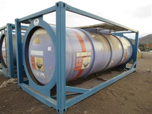 Portable Tanks and other Machinery on Sale in Scorpion Zinc Online Auction
