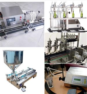 Semi automatic filling machines R14500 fully automatic R30000.00