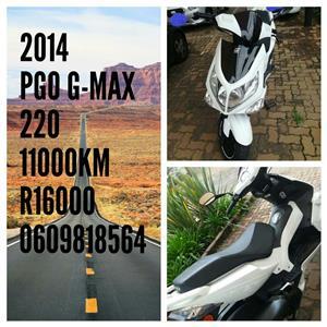 2014 PGO G-Max
