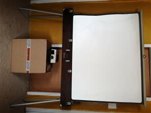 """Antique / Collectable Projector Screen & Box For Pictures"" > Alberton, JHB"