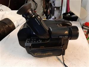 Panasonic video camera for sale