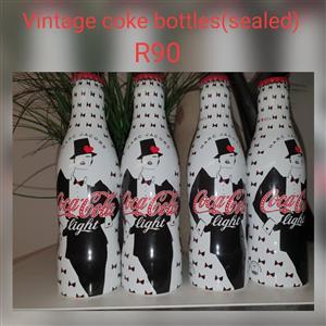 Vintage coke bottles for sale