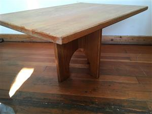 Coffee Table Wood Solid