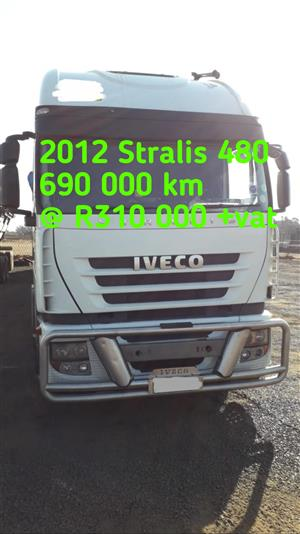 2012 Stralis 480