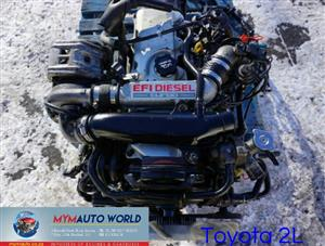 Imported used TOYOTA HILUX 2.4L, 2L engine Complete