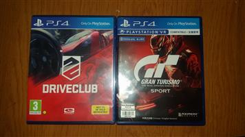 2 Playstation 4 games for sal