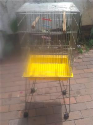 Bird cage on stand for sale