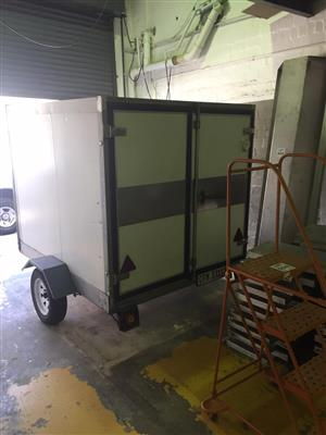 Refrigerated Trailer Complete with Compressor and Generator