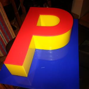 WE SUPPLY THE SIGNAGE INDUSTRY WITH 3D PERSPEX SIGNAGE SUCH AS 3D PERSPEX LETTERS, 3D PERSPEX LOGOS, 3D PERSPEX LIGHT-BOXES IN ALL SHAPES AND SIZES.