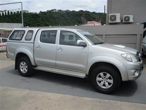 2011 Toyota Hilux 3.0D 4D double cab Raider auto