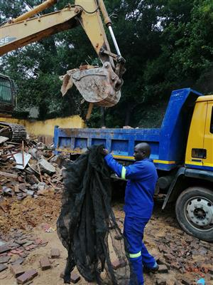 Cheap Rubble Removals and Demolition services