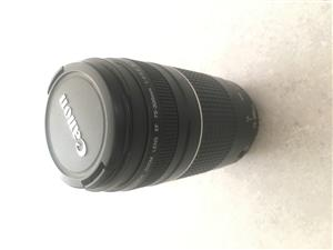 Canon 75-300 EF III 1:4-5.6 lens