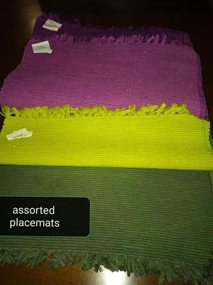 Assorted placemats for sale