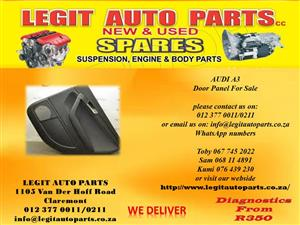 Audi A3 Door Panels For Sale
