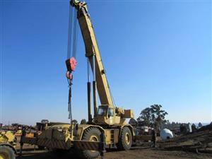 Grove RT980, Rough Terrain, 80 Ton Mobile Crane