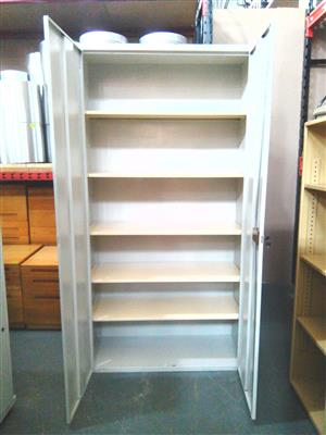 2 Door 5 shelves steel filling cabinet
