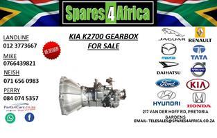 KIA K2700 GEARBOX