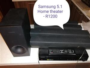 Samsung 1.5 Home theater.