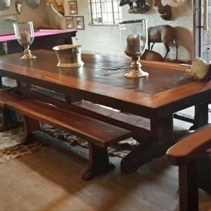 Railway Sleeper Tables
