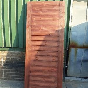 pine solid door.  standard/stable