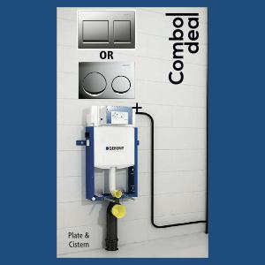 Sanitary : Plate & Cistern