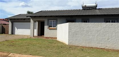3 Bedroom home in a security estate