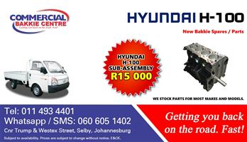 hyundai h100 2.6 d4bb sub assembly