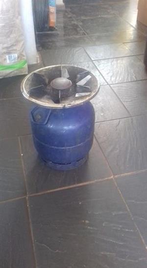 Gasbottel with head