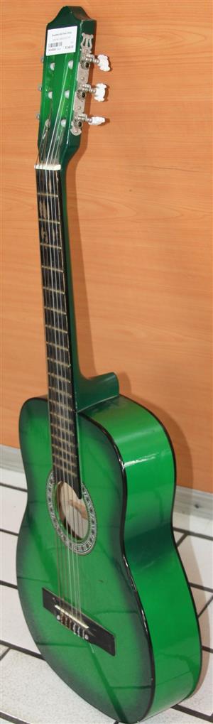 S034282A Sanchez green guitar #Rosettenvillepawnshop
