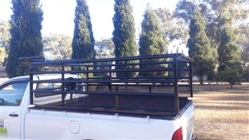 Toyota D4D lwb Hunting or Cattle Rail. Recently repainted