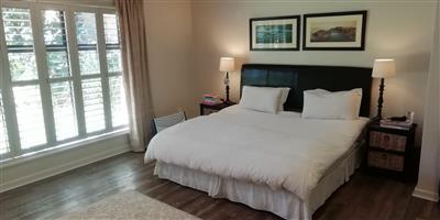 King size bed + mattress, brand Rest Assured