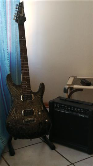 Ibanez sa series n427 and 15 watt amp