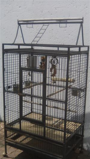 Mobile birdcage