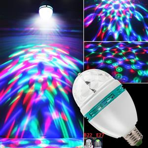 LED Light Bulbs: Rotating Party / Disco Lamps 85 ~ 260V AC. Plus a complimentary holder.