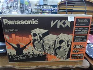 Panasonic SC-VKX65 DVD Stereo System