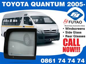 Brand new sidedoor glass for sale for Toyota Quantum 2005- #TY73-L3