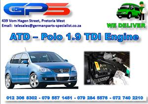 Used ATD – VW Polo 1.9 TDI Engine for Sale