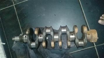 td27 standard  crankshaft. ka24 12valve standard. ka20 standard crankshaft