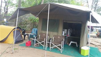 Camptech Bosvelder Camping Trailer