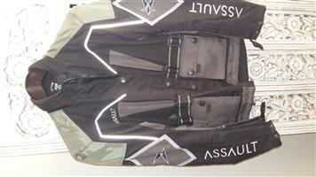 Assault motor bike jacket.  Size S